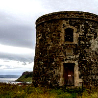 Folly at Uig Harbour