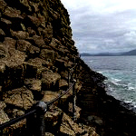 Path to Fingal's Cave on Staffa