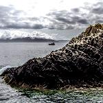 Basalt rocks on Staffa