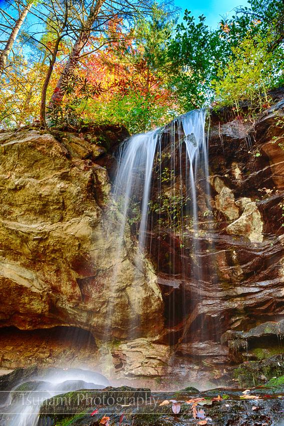 Window Falls, Hanging Rock State Park, North Carolina