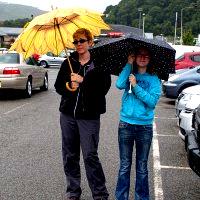 Sporting Fashion Umbrellas at Tesco's