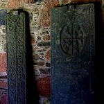 Carved Gravestones at Iona Abbey