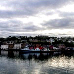 Oban Harbour from the ferry.