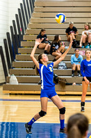2014 JV and Varsity Volleyball vs St. James